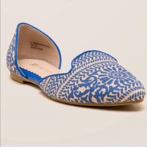 Restricted Glory Blue Flats 7